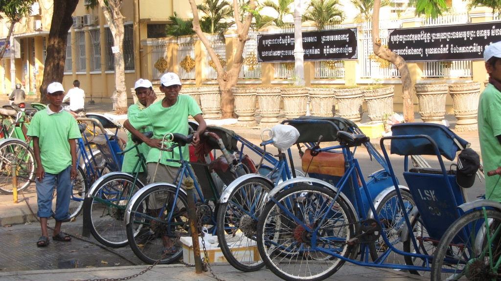 Cyclo tocht Phnom Penh - Cambodja - Atma Asia Travel