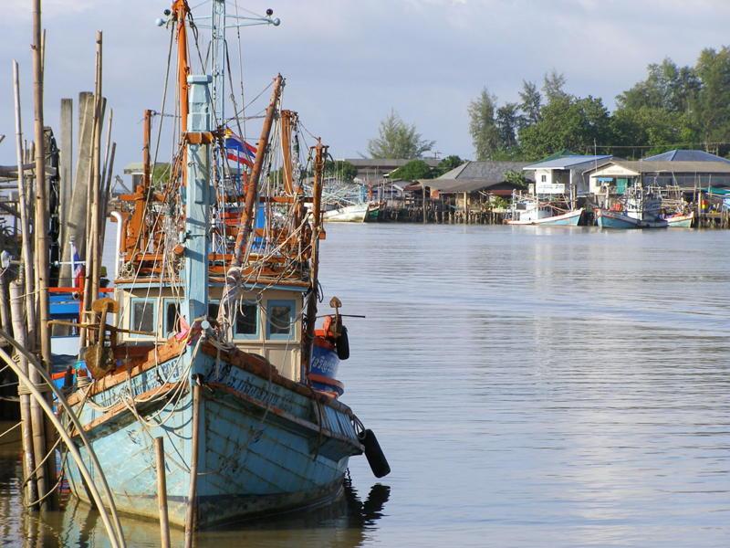 Op bezoek in een vissersdorp - Thailand - Atma Asia Travel