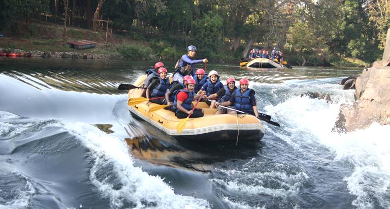 Raften op de Teesta rivier - Sikkim - Atma Asia Travel
