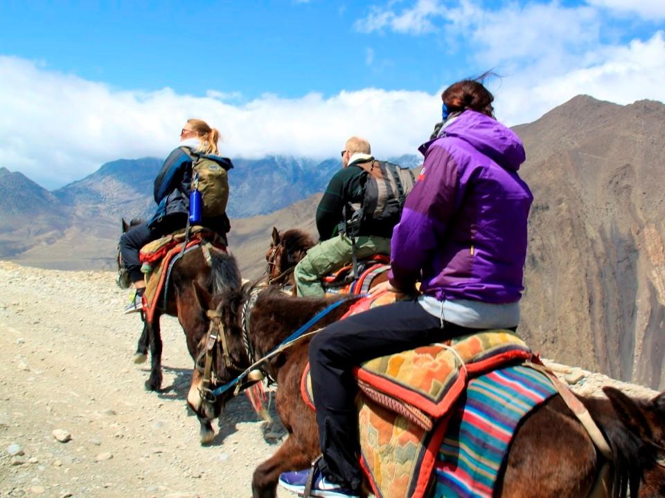 Te paard door het hooggebergte - Nepal - Atma Asia Travel