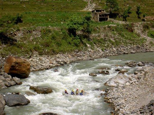Trisuli rivier - Nepal - Atma Asia Travel