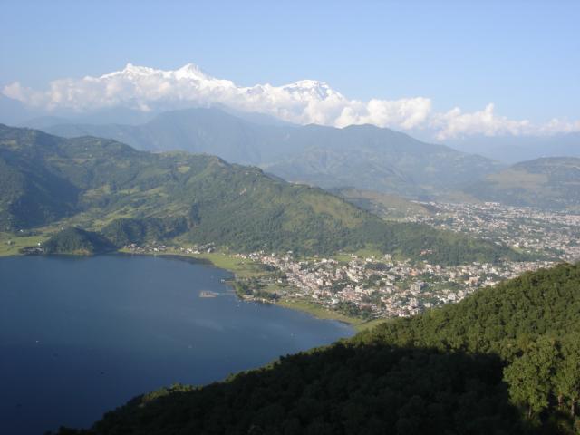 Paragliden Pokhara vallei - Nepal - Atma Asia Travel
