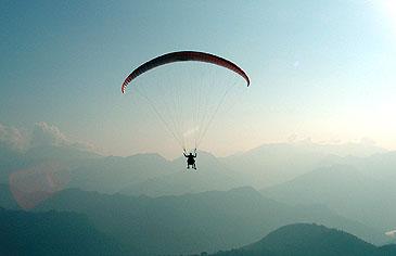 Paragliden - Atma Asia Travel